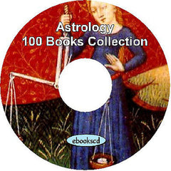 100 Astrology Books on DVD : Astrology Horoscopes Zodiac Astrologer Library
