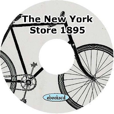 The New York Store 1895 vintage bicycle catalog on CD