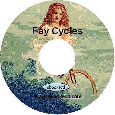 Fay Cycles 1898 children's bicycle kids bicycle vintage 1898 catalog CD