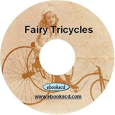 Fairy Tricycles 1898 children's tricycle kids tricycle vintage 1898 catalog CD