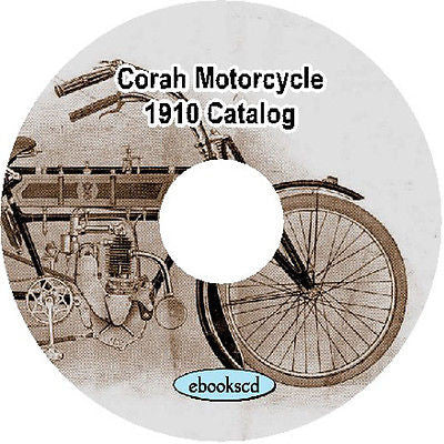 Corah 1910 vintage catalog on CD