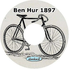 BEN HUR 1897 vintage bicycle catalog on CD