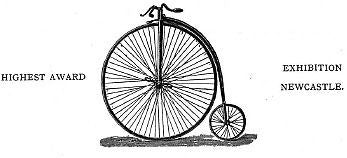 EDGELL 1888 vintage velocipede bicycle catalog on CD