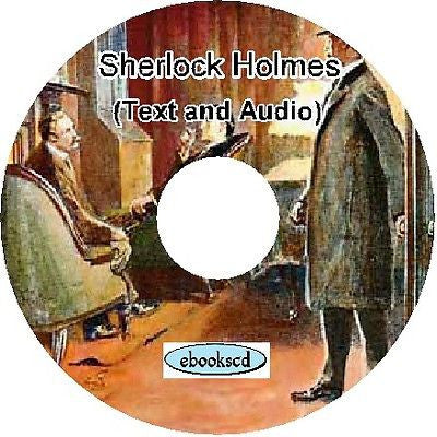 The Adventures of Sherlock Holmes Audio & Ebook on CD
