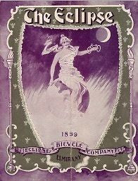 THE ECLIPSE 1899 vintage bicycle catalog on CD