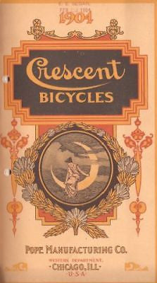 Crescent Bicycle catalog: vintage 1904 catalog (digital download)
