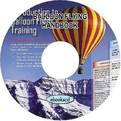 BALLOONS FLYING HANDBOOK ON CD plus bonus