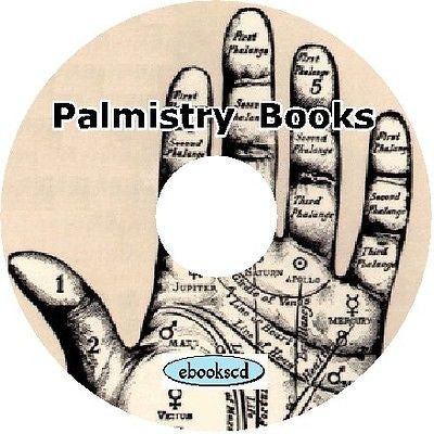 Palmistry - Learn to read palms 45 Books on CD