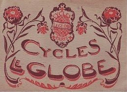 DELYS GLOBE 1912 vintage bicycle catalog on CD (French)