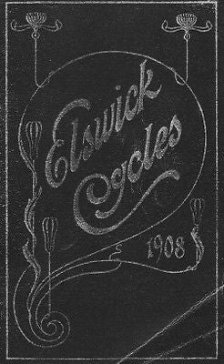 ELSWICK 1908 vintage bicycle catalog on CD