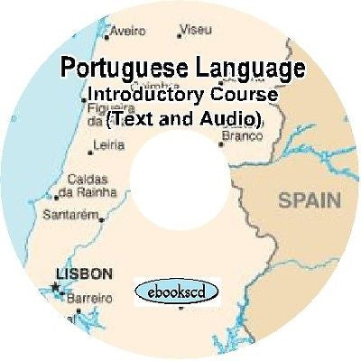 PORTUGUESE Introductory  language course Audio + Text DVD