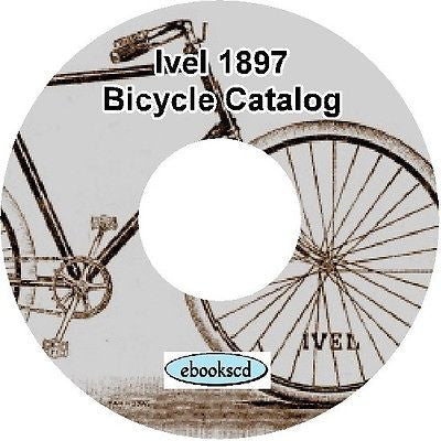 IVEL 1897 vintage bicycle and tricycle catalog on CD