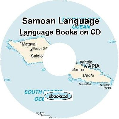 SAMOAN language & culture 5 classic books on CD
