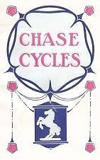 CHASE 1912 vintage bicycle catalog on CD