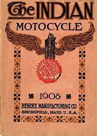 Indian motor cycle catalog: 1908 vintage catalog (Digital Download)