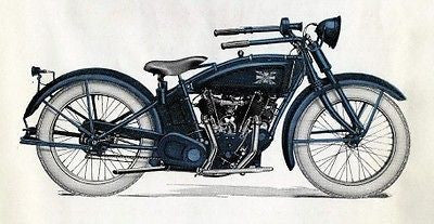 EXCELSIOR MOTORCYCLE 1921 series 20 vintage catalog CD