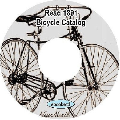 "Read ""New Mail"" 1891 vintage bicycle catalog on CD"