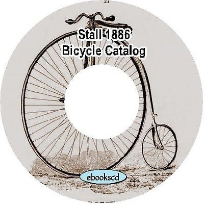 Stall 1886 vintage bicycle catalog on CD