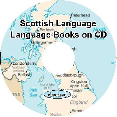 SCOTS Scottish language of Scotland 14 books CD