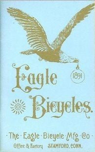 EAGLE BICYCLE MFG CO 1891 vintage bicycle catalog on CD