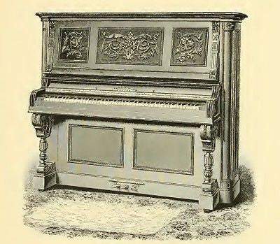 Ivers and Pond 1891 vintage piano catalog on CD
