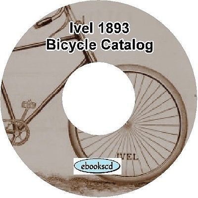 IVEL 1893 vintage bicycle and tricycle catalog on CD