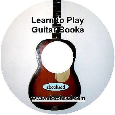 Learn to play the GUITAR and learn guitar tab & music : 14 books manuals on CD