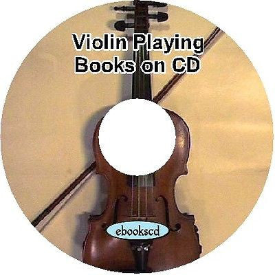 Learn to play the VIOLIN 14 classic books on CD