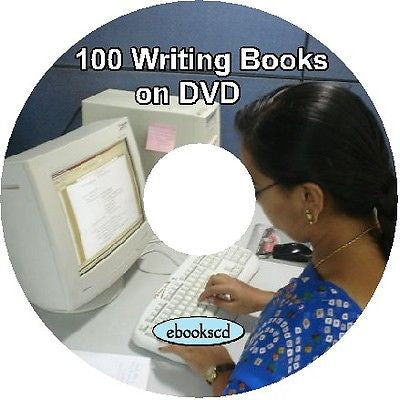 Writer's writing books Learn to write 100 books on DVD