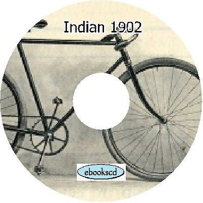 Indian cycles (bicycle & motorcycle) 1902 catalog (Digital Download)
