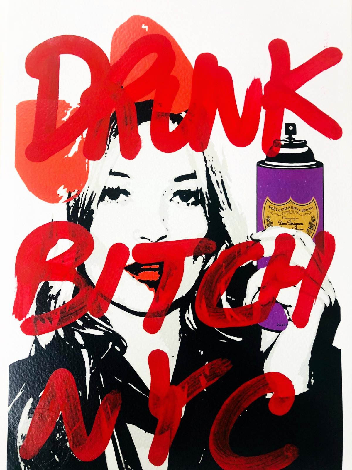 "(8"" x 12"") Drunk Bitxh NYC (Edition of 1)"