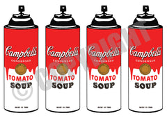 4 Soup Spray Red