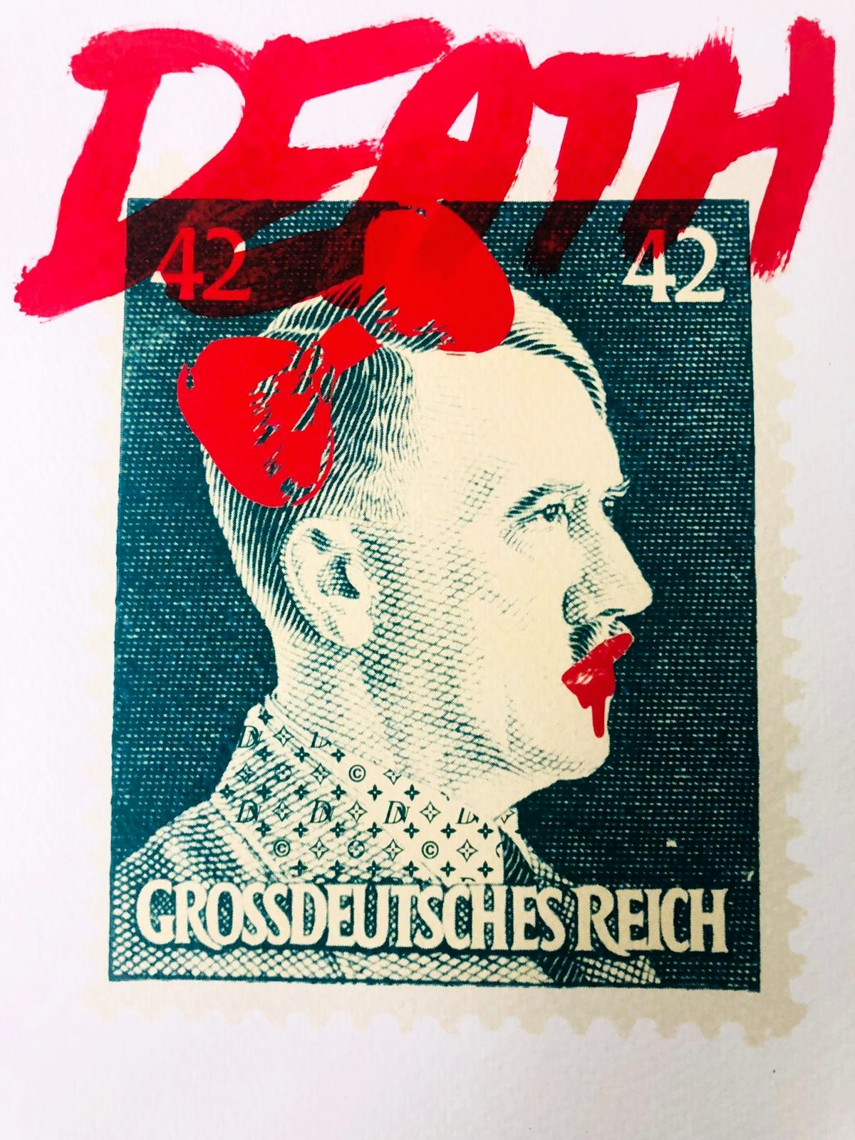 "(6"" x 8"") DEATH Reich (Edition of 1)"