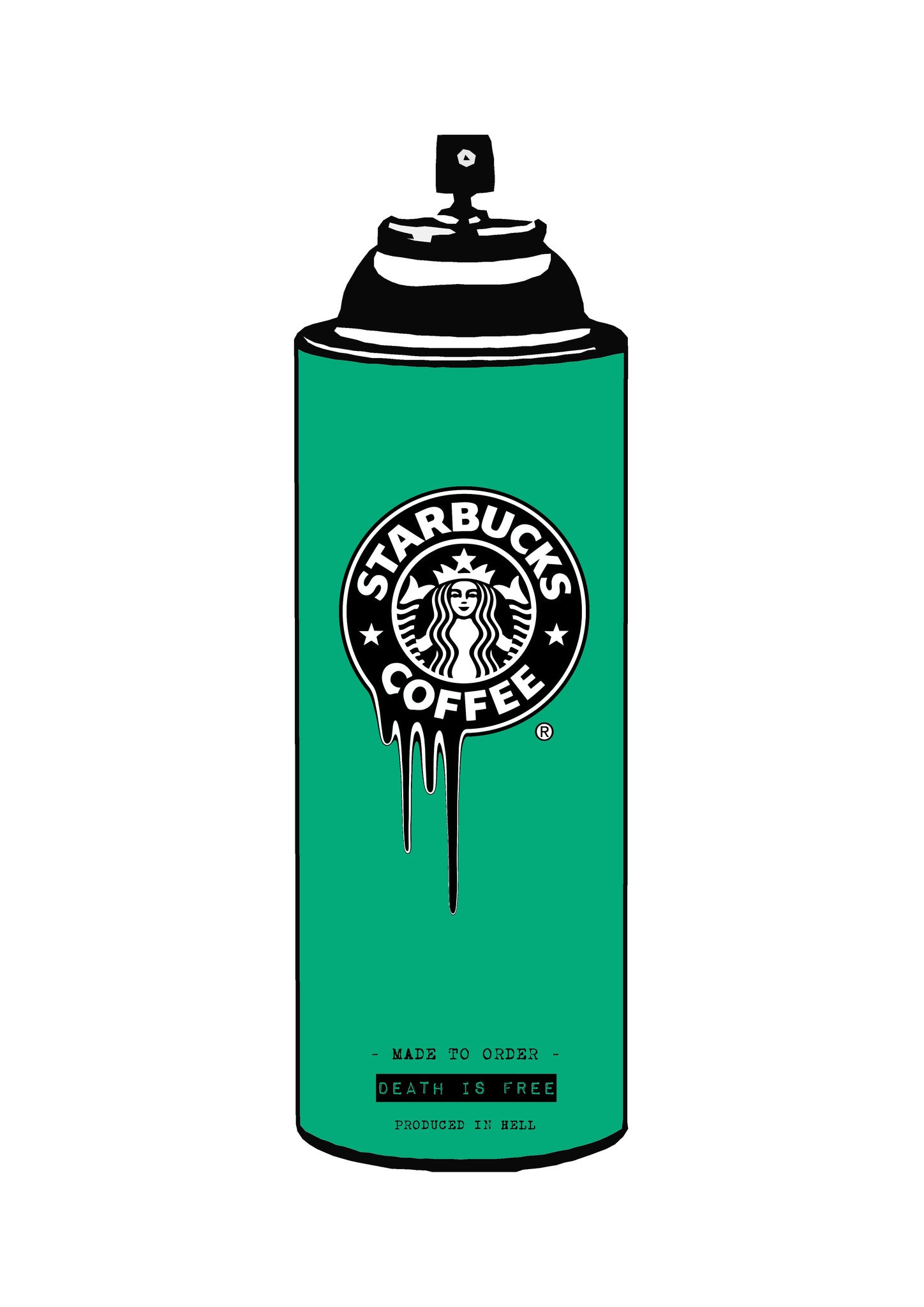 Coffee Spray Green