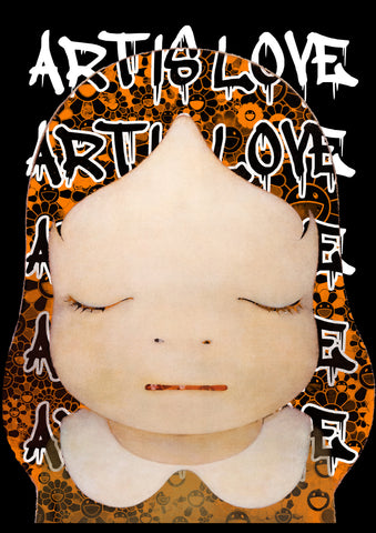 """ART IS LOVE N 17"" 45x32cm (Edition of 100) (2020)"