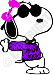 Death Cool Pink Purple (A4)