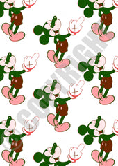 Mouse Finger Repeat Green Red