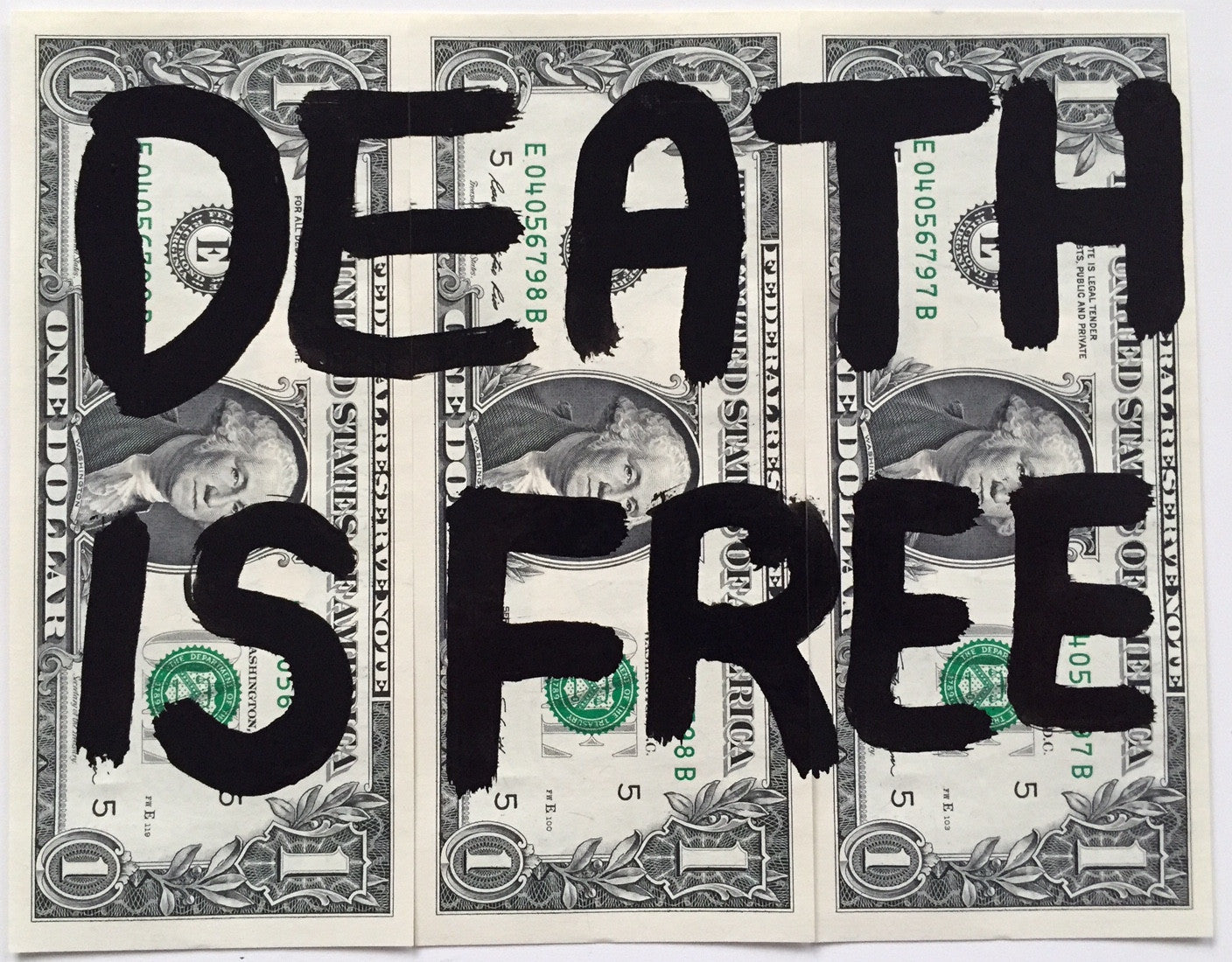 $1 DEATH IS FREE (Pre-order)