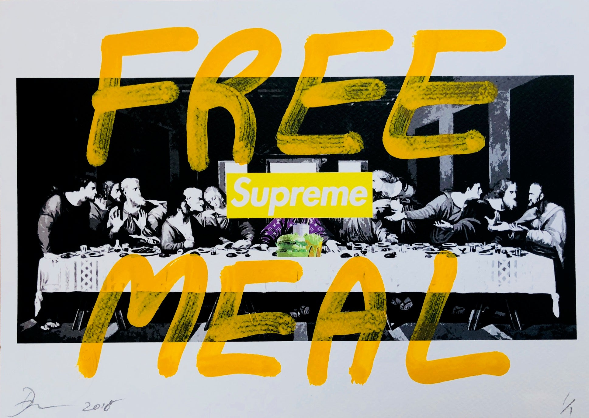 Free Meal 29x21cm (Edition of 1)
