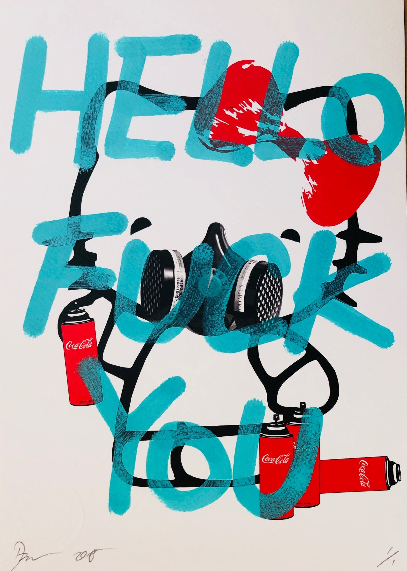 Hello 29x21cm (Edition of 1)