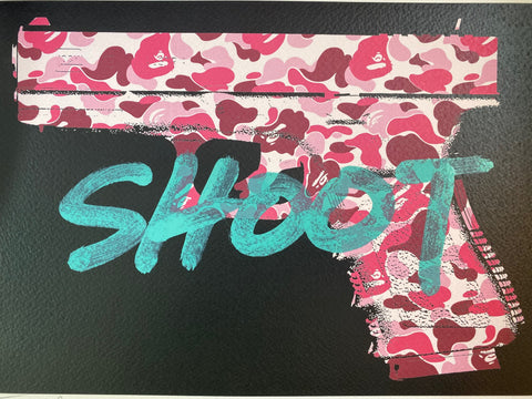 """Shoot"" 29x21cm (Edition of 1)"