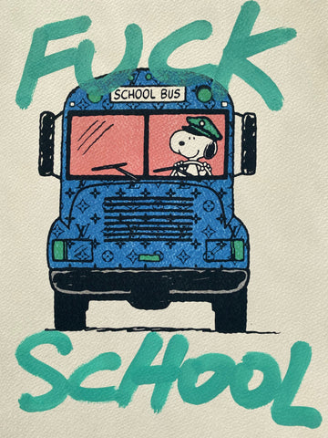 """School"" 29x21cm (Edition of 1)"