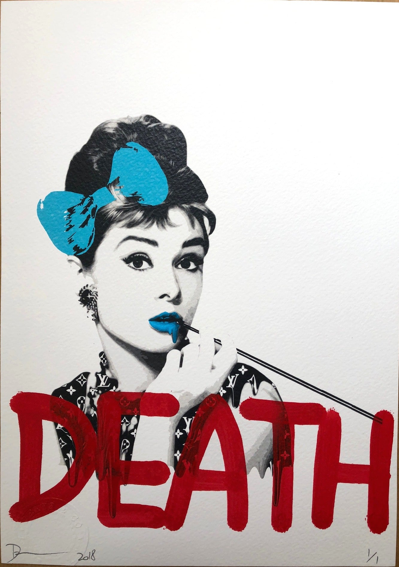 Audrey DEATH (Edition of 1)