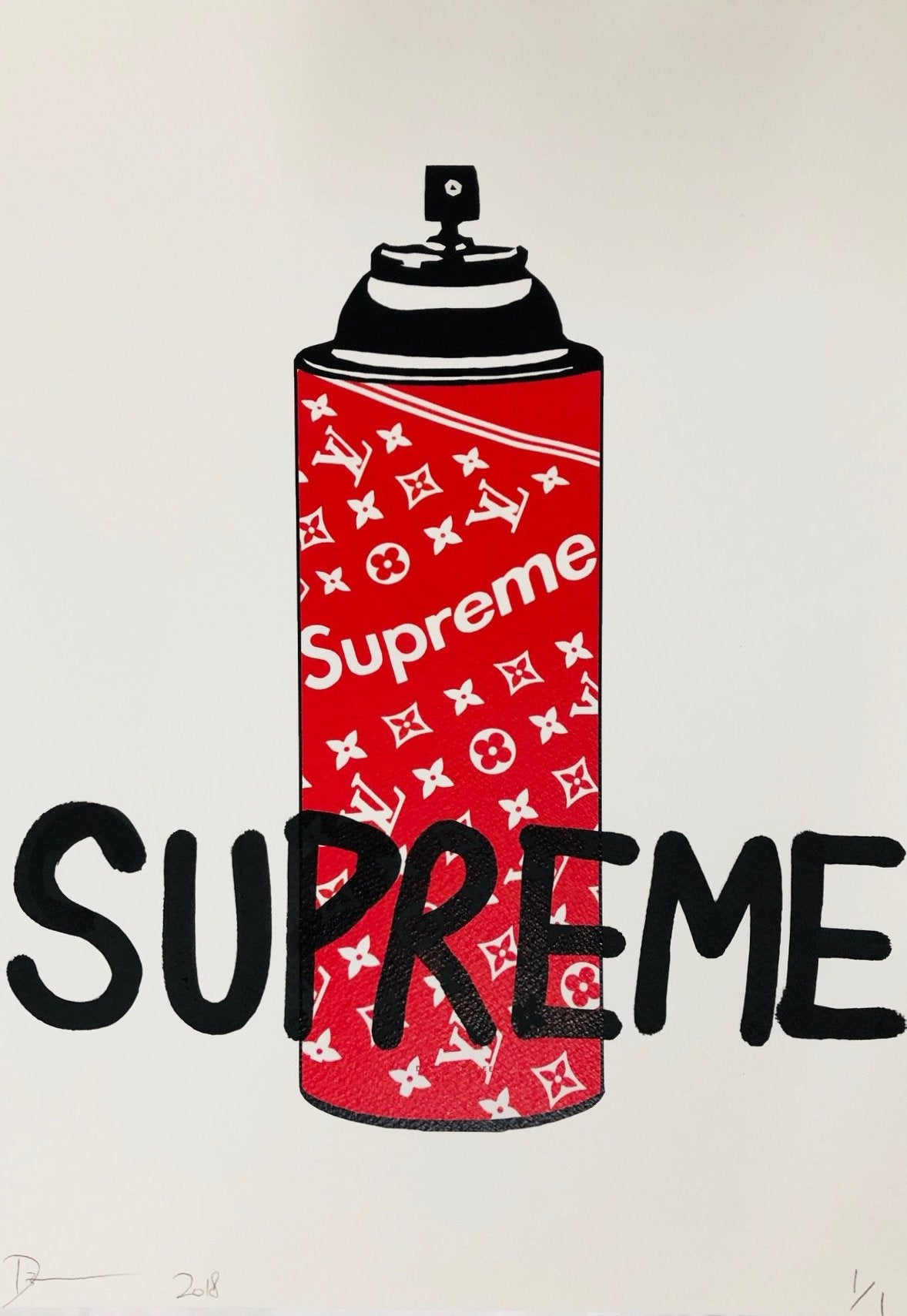 SUPREME 45x32cm (Edition of 1)