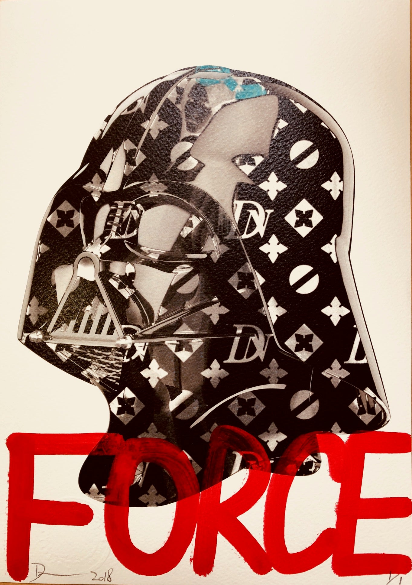 Vader FORCE 29x21cm (Edition of 1)
