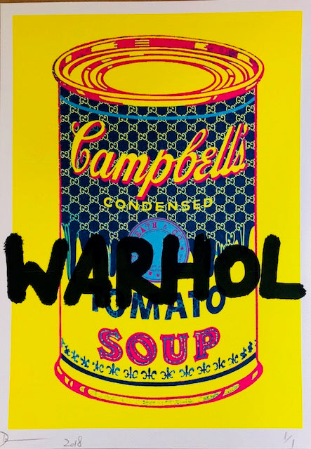 WARHOL Can Soup 29x21cm (Edition of 1)