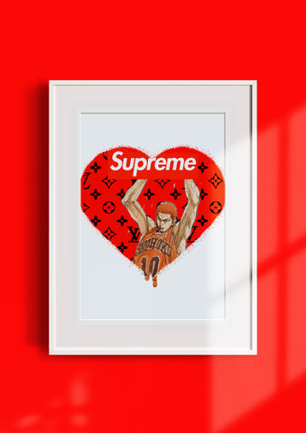 """SUP HEART"" 45x32cm (Edition of 10) (2020)"