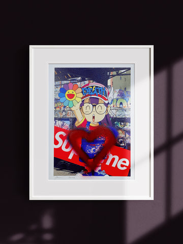 """Arale"" (Edition of 1) Mixed Media 2020"