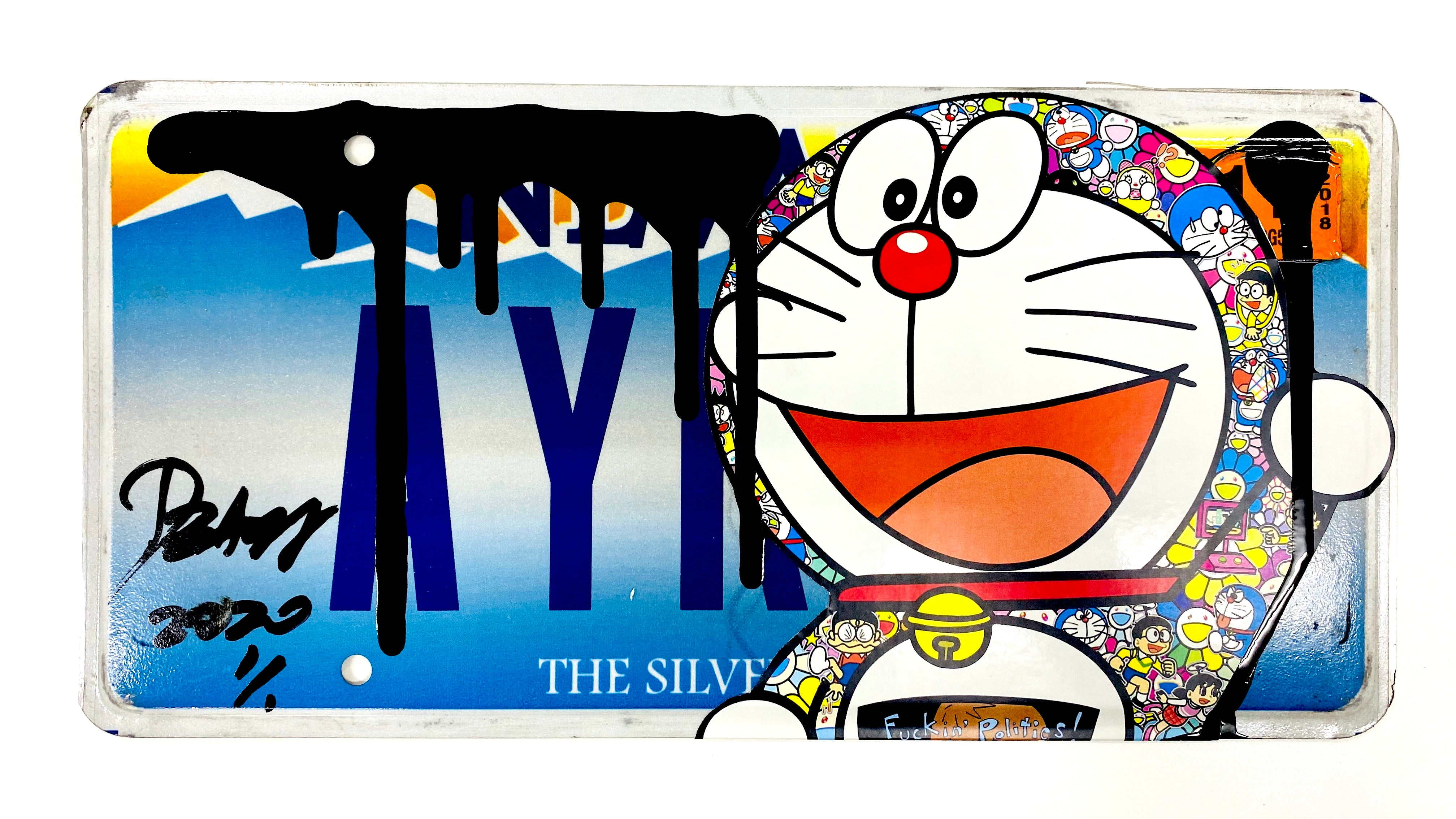 """AY"" Original License Plate (2020)"