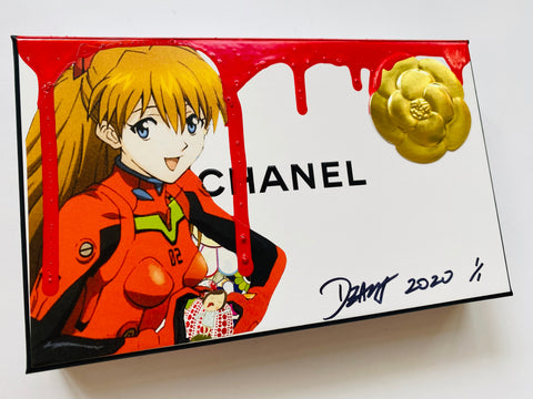 """Asuka pumpkin"" Original on Box (2020)"